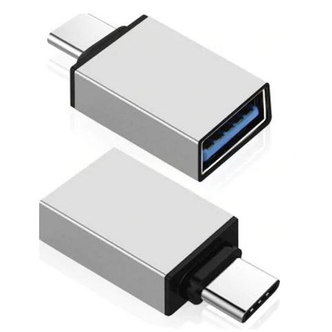 2 Κομμάτια USB 2.0 Female To Type-C (USB 3.1) Male OTG Adapters Converters