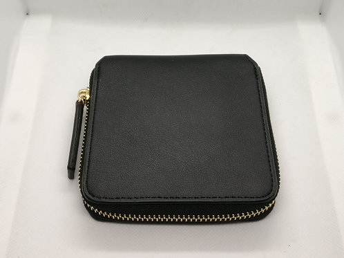 Women Purse Wallet - Clutch Bag (BLACK)