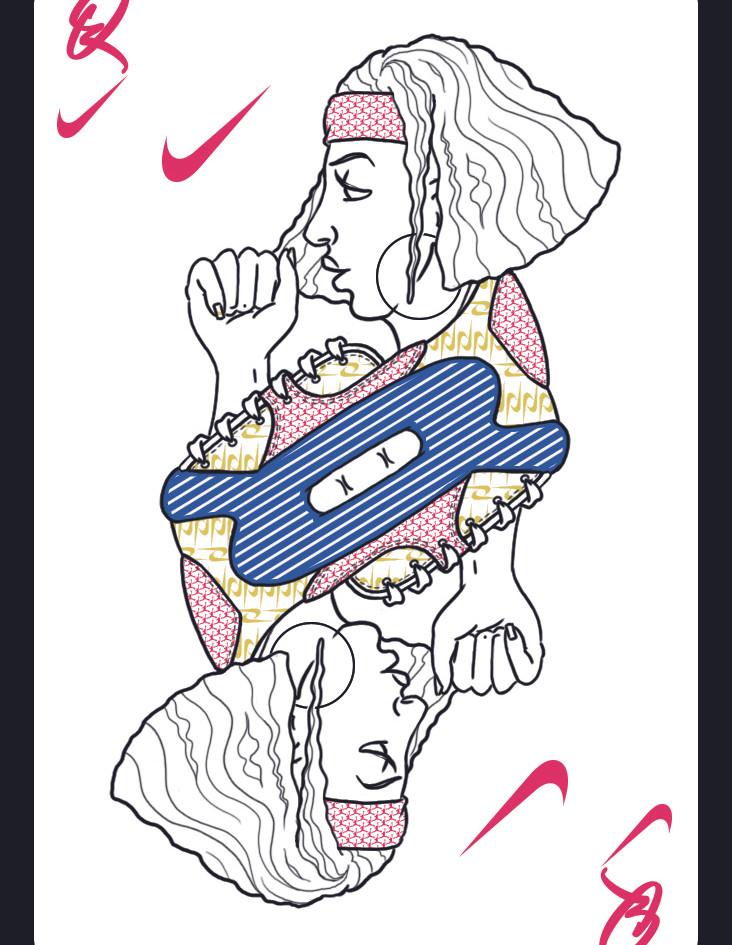 Queen of Nike