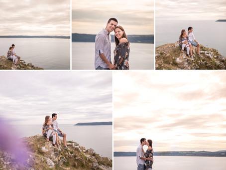 {Engagement} Three Cliffs Bay