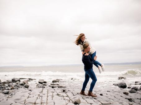 {Engagement} Ceri & Russell | Llantwit Major Beach