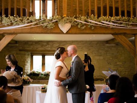 {Wedding} Jess & Dan | Kingscote Barn