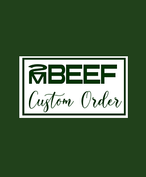 Quarter, Half, & Whole Beef