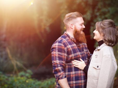 {Engagement} Larissa & Sam | Usk Island