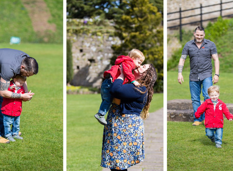 {Family} The Fryers | Caldicot Castle