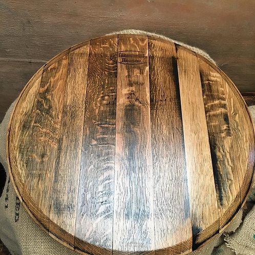 Wine Barrel Oak Lazy Susan
