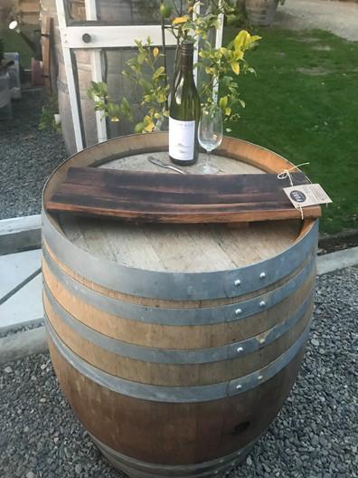 Large Oak Stave Platter