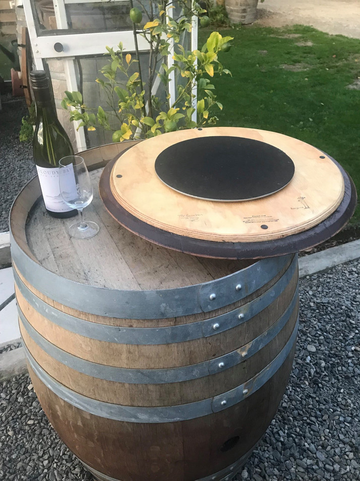 Recycled Oak Lazy Susan Bearing