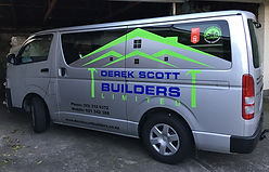 Builders van signs