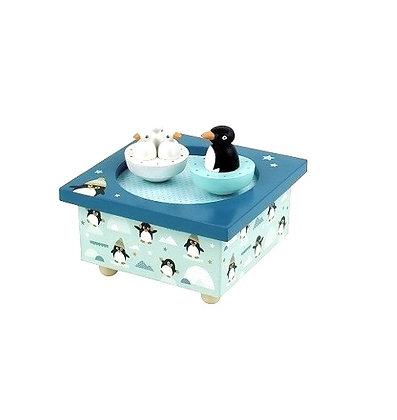 Boîte à musique Dancing pingouins