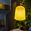 Thumbnail: Abat-jour jupe jaune, suspension blanche - La case de Cousine Paul