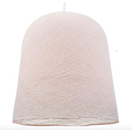 Abat-jour jupe dragée, suspension blanche - La case de Cousine Paul