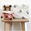 Thumbnail: Trousse de toilette Vic Naturel imprimé panda