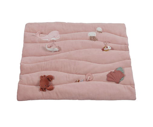 Tapis de parc Océan Pink - Little Dutch