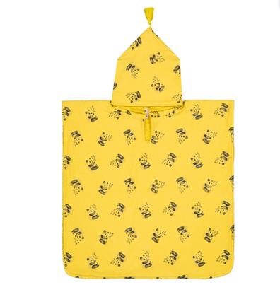 Pancho de bain Pépito Panda jaune Taille 1