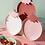 Thumbnail: Assiette rouge Fraise - Yuko B