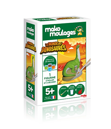 Dinosaure Diplodocus - Mako Moulages