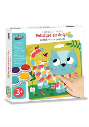 Peinture au doigt Adorables compagnons - Créalign'