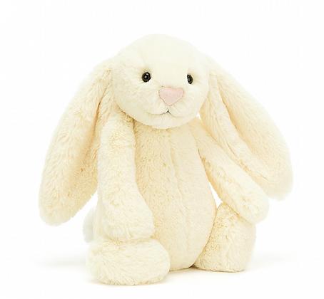 Peluche Lapin Bashful 31 cm blanc - Jellycat