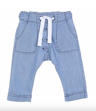 Pantalon en Chambray- Emile Et Ida