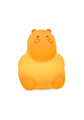 Veilleuse silicone Hippopotame Light 4 Kids