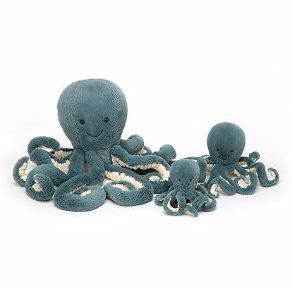 Mini Odell octopus bleue Jellycat