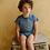 Thumbnail: Tee shirt Tunisien rayé en côtes de coton biologique- Emile Et Ida