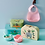 Thumbnail: Cuillères bébé silicone bleu ciel - Rice