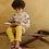 Thumbnail: Pantalon en Gaz de coton, couleur Soleil- Emile Et Ida