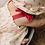 Thumbnail: Top à bretelles en voile de coton, imprimé Cerises - Emile Et Ida