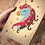 Thumbnail: Tampographie sur bois Les Personnages enchantés - Créalign'