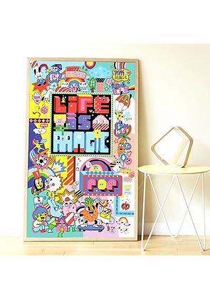 Poster en stickers - STREET ART