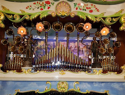 Wurlitzer 175 Brass Trumpet Band Organ