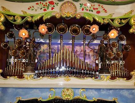 Wurlitzer 175 Brass Trumpet Band Organ