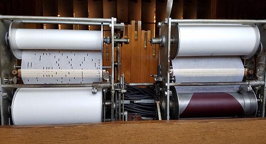 Wurlitzer 165 Band Organ Duplex Roll Frames