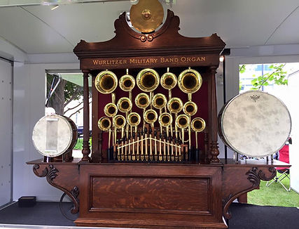 Wurlitzer 148 Brass Trumpet Band Organ