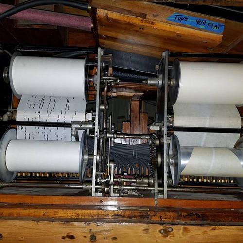 Duplex Roll Frames on a Wurlitzer 153 Band Organ