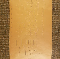 Player Piano Roll; 'Mandolin' Arrangement
