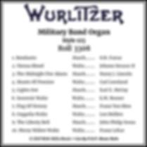 Wurlizer 153 Band Organ With Lights