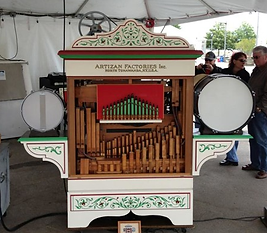 Ruth-Artizan Band Organ; B.A.B Rolls