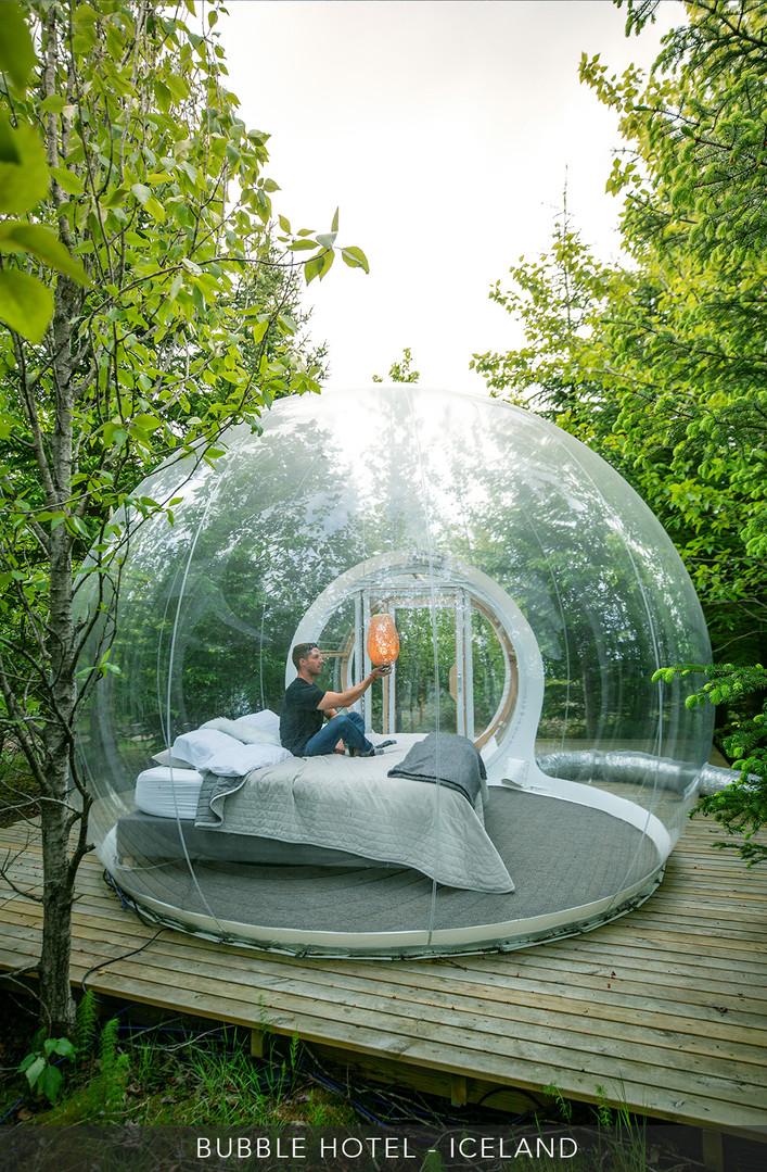 Bubble Hotel - Iceland