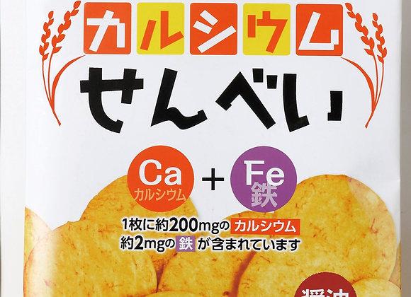 カルシウムせんべい 醤油味