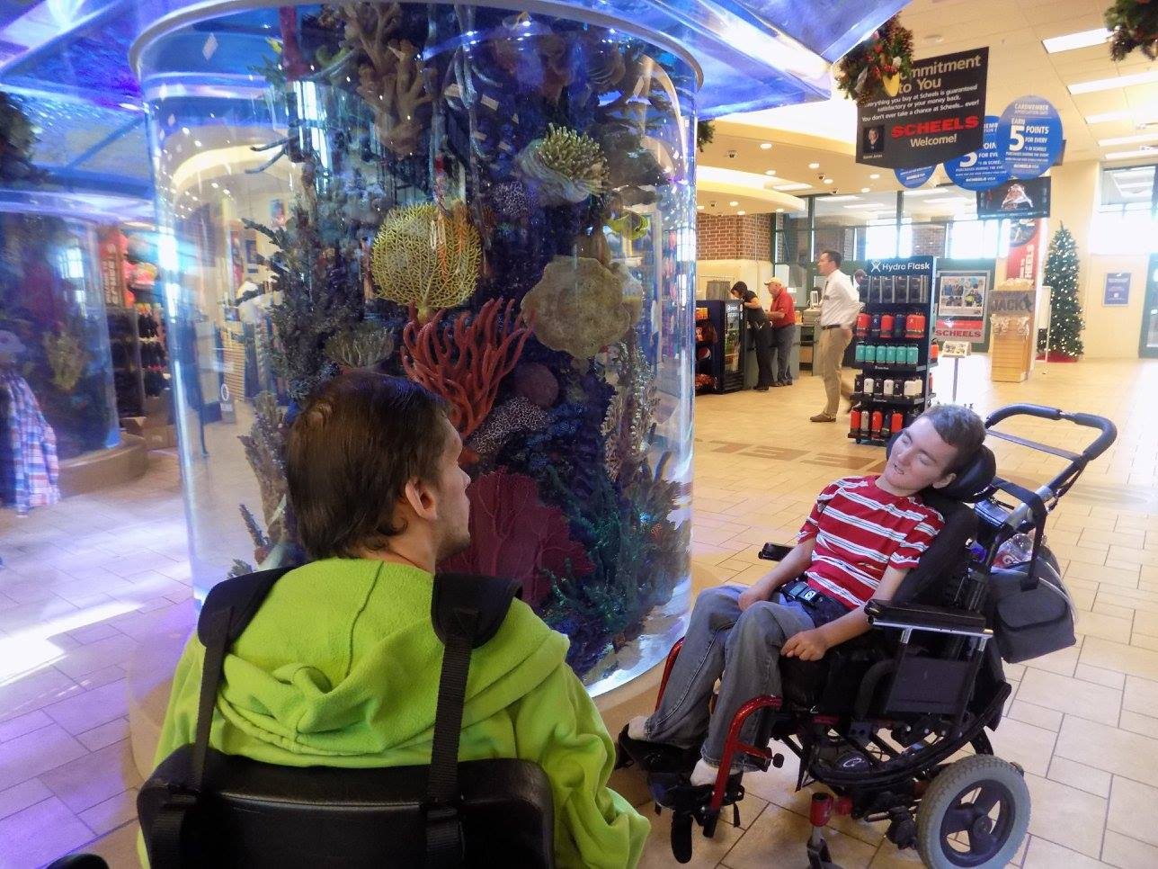 The Scheels Fish Tank
