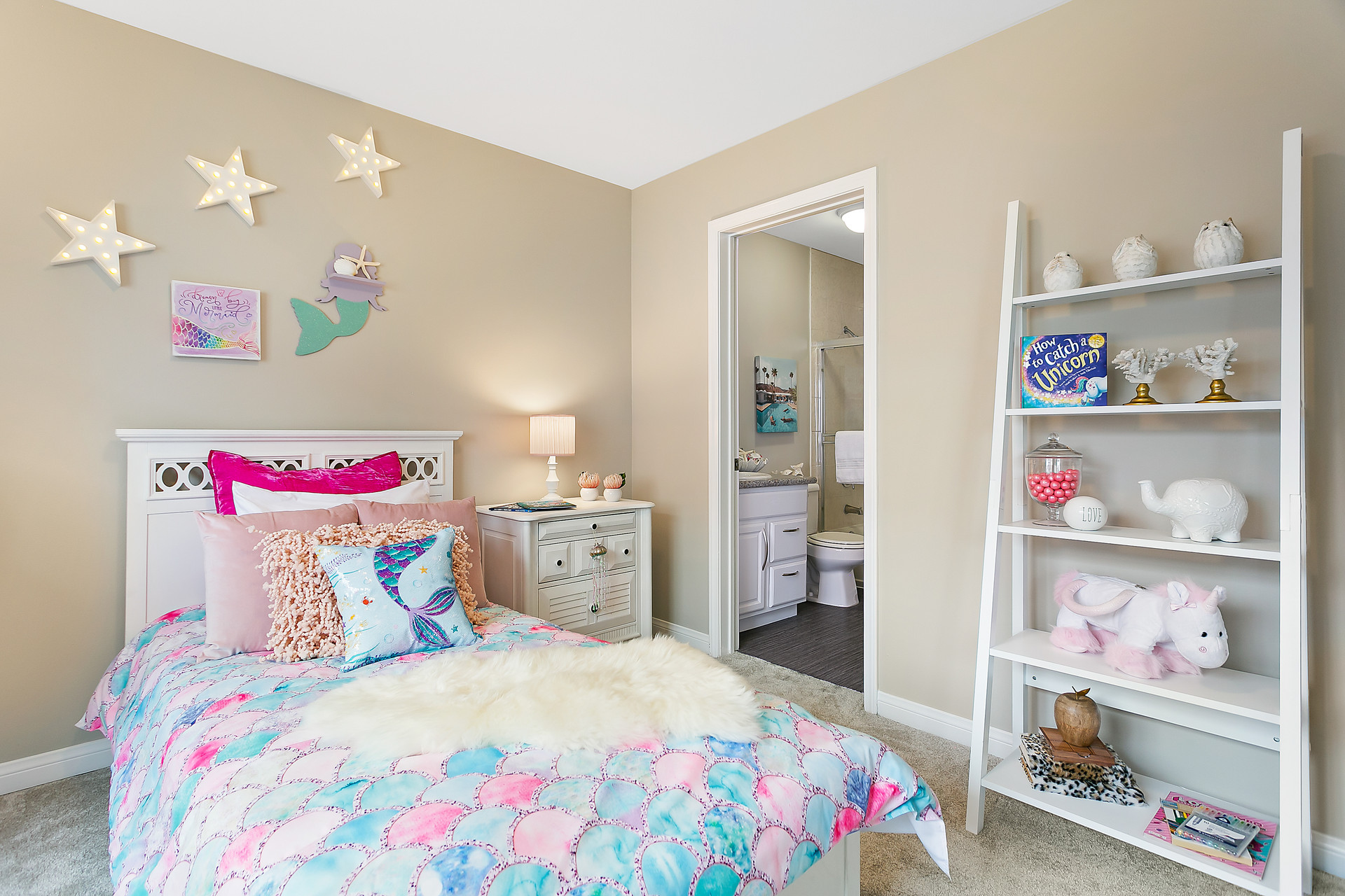 How to Create a Mermaid Bedroom With Boo