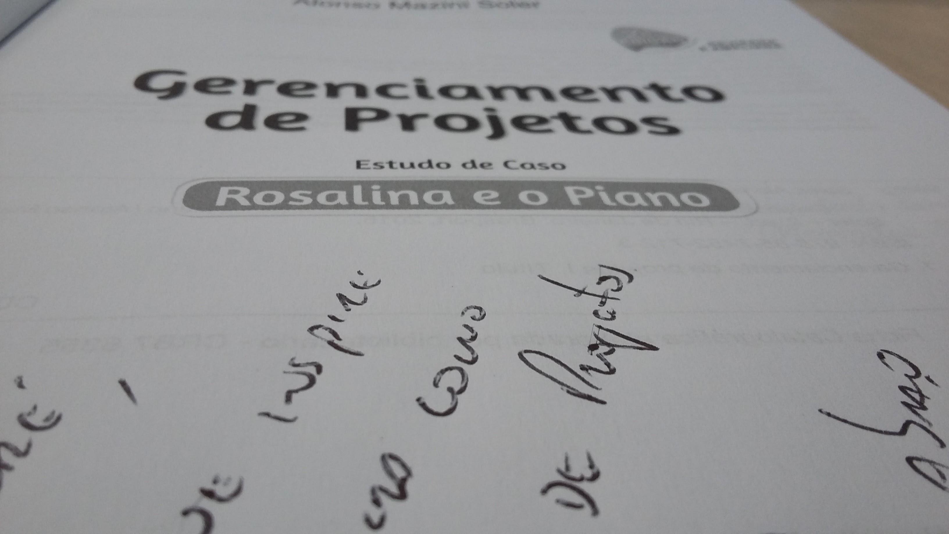 Rosalina e o Piano, 2015