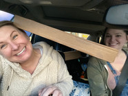 Pack the car full while shopping!