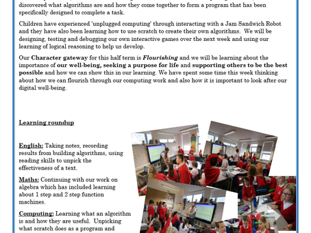 Year 6 Weekly Letter 21/05/2021