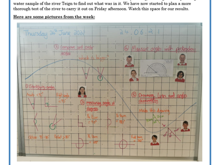 Year 5 Weekly Letter 25/06/2021