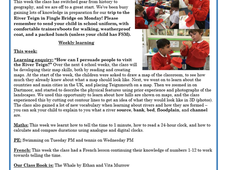 Year 3 Weekly Letter 21/05/2021