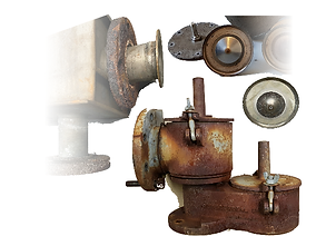Rusted Breather Valves